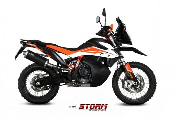 Storm by MIVV OVAL schwarz KTM 790 Adventure 2019-