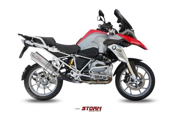 Storm by MIVV OVAL BMW R 1200 GS ´13/16