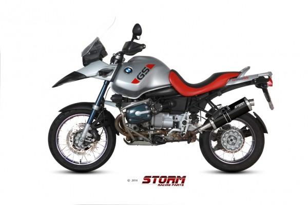 Storm by MIVV OVAL schwarz BMW R 1150 GS ´99/03