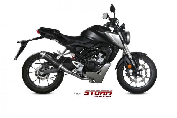 Storm by Mivv GP Edelstahl Honda CB 125 R 18-20