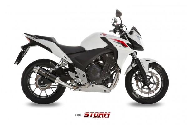Storm by MIVV GP schwarz Honda CB 500 F/ X CBR 500 R ´13/15