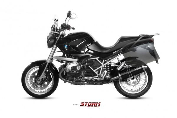 Storm by MIVV OVAL schwarz BMW R 1200 R ´11/14