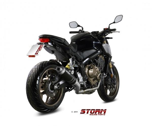 Storm by Mivv GP black Honda CB 650 R ´19 H.072.LXSB-Storm