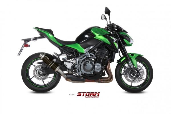 Storm by MIVV GP schwarz Kawasaki Z 900 17-19